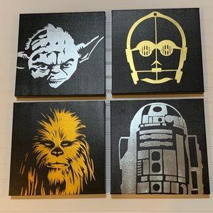 Star Wars Canvas Bundle (4 pieces)